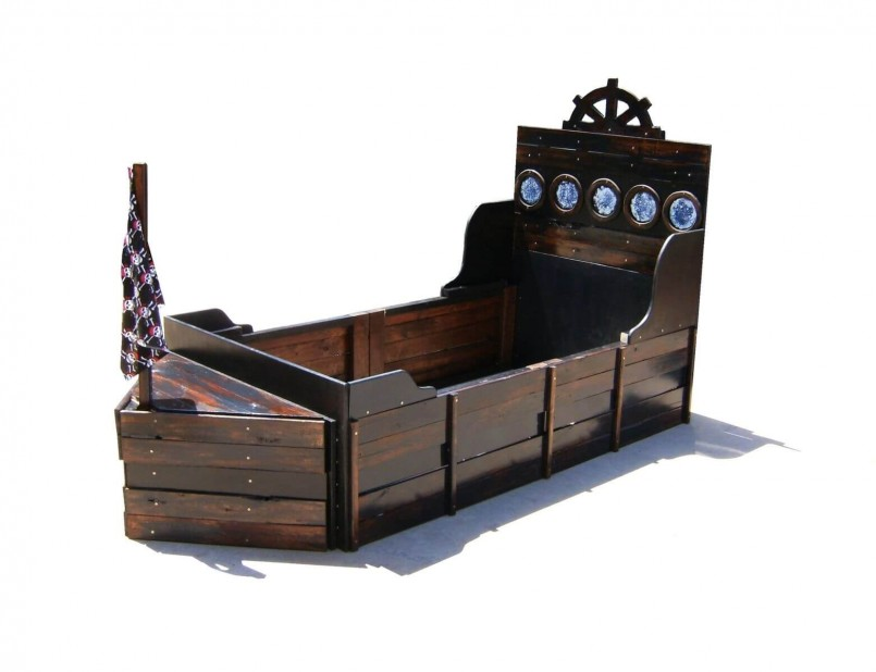 Little Tikes Pirate Bed | Jake Neverland Pirates Bed | Pirate Bedroom Furniture