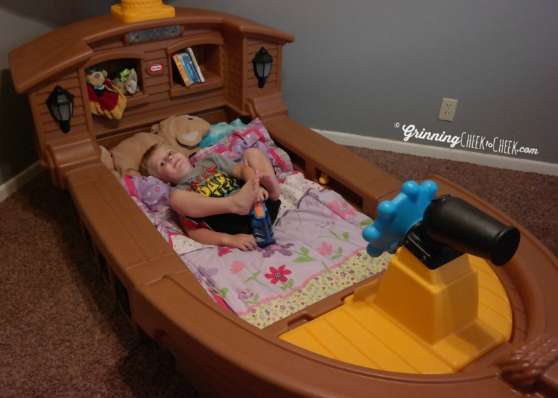 Little Tikes Pirate Bed | Pirate Ship Beds | Twin Size Pirate Bed