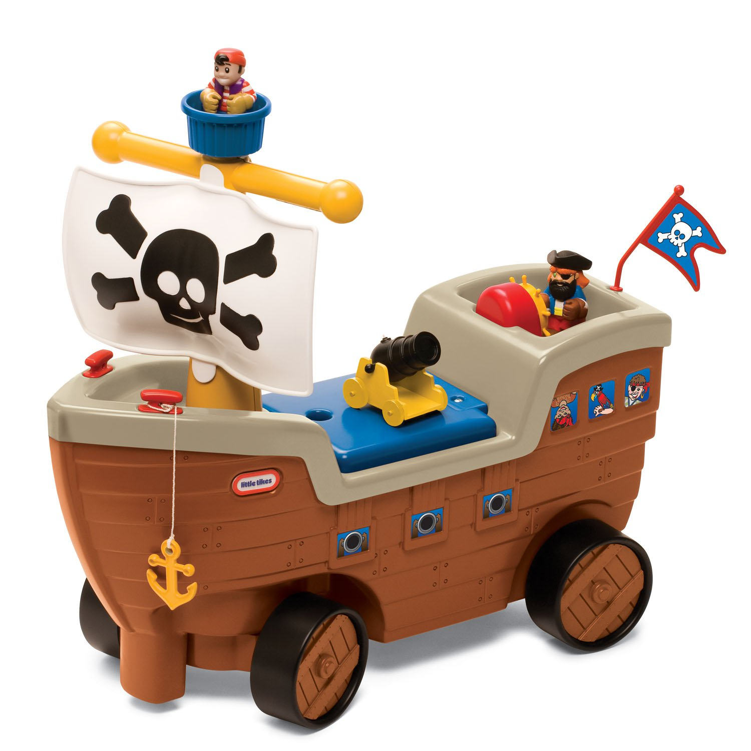 Little Tikes Pirate Bed | Twin Size Pirate Ship Bed | Pirate Ship Bedroom