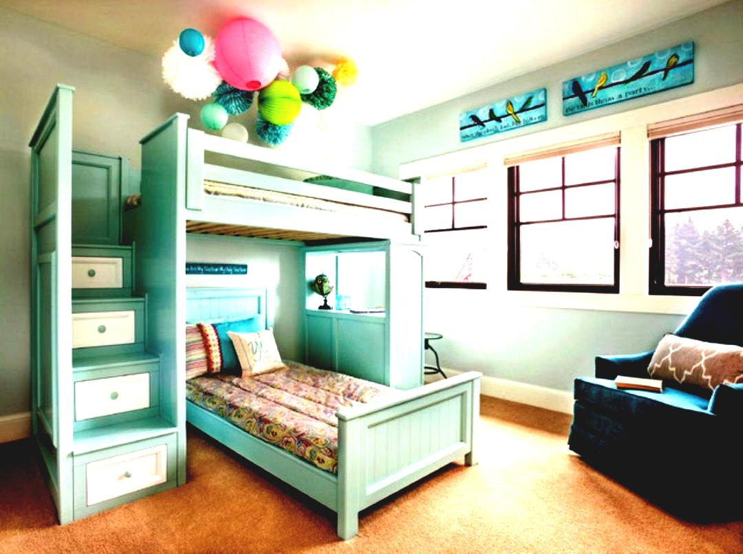 Loft Bedroom Ideas | Bunk Beds for Small Rooms | Cute Bunk Beds for Girls