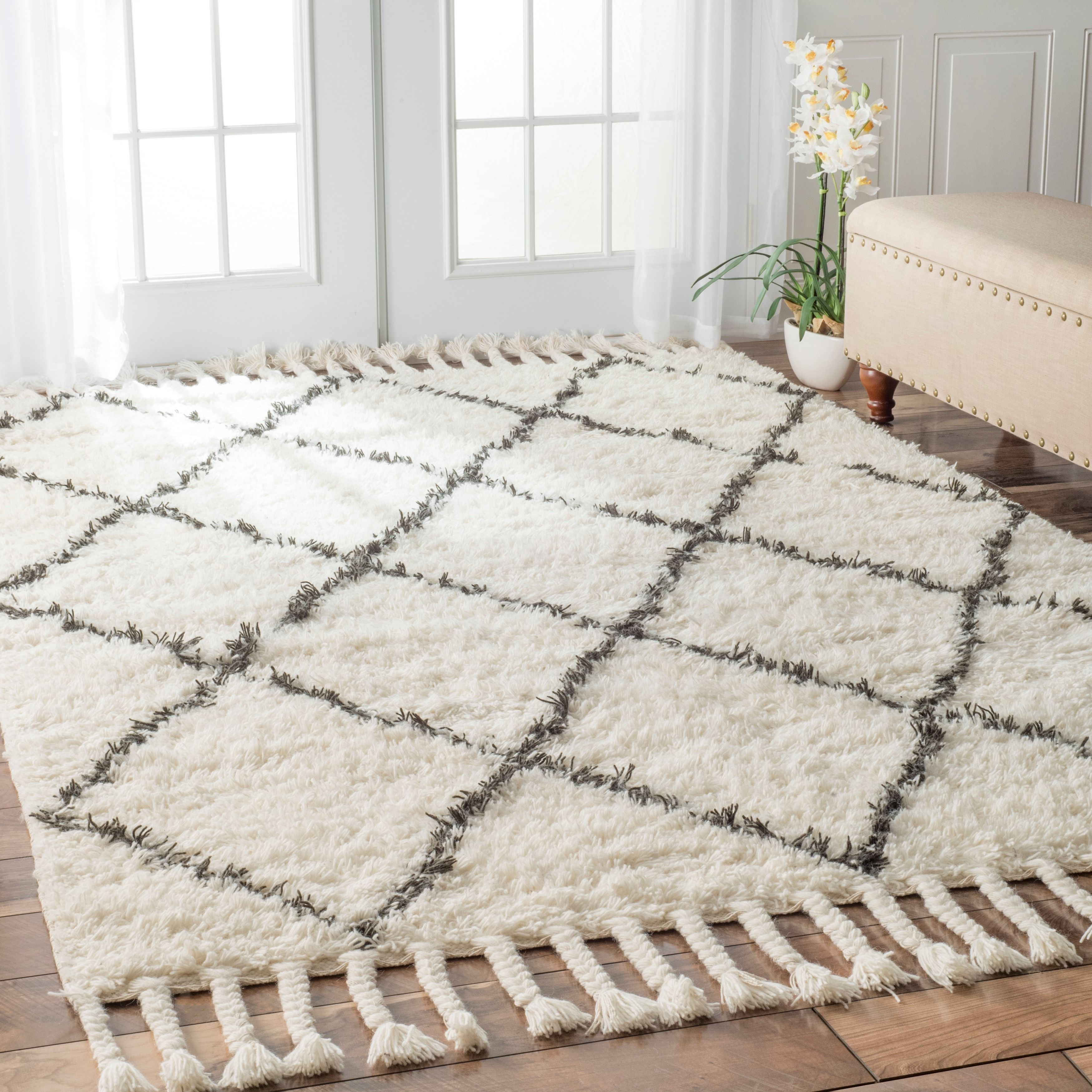 Lovable Marrakesh Shag Rug | Chic Moroccan Shag Rug Idea