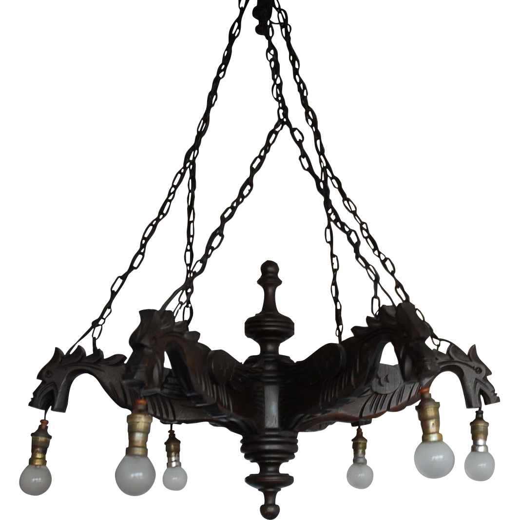 Lovely Gothic Chandelier | Alluring Mexican Iron Chandeliers