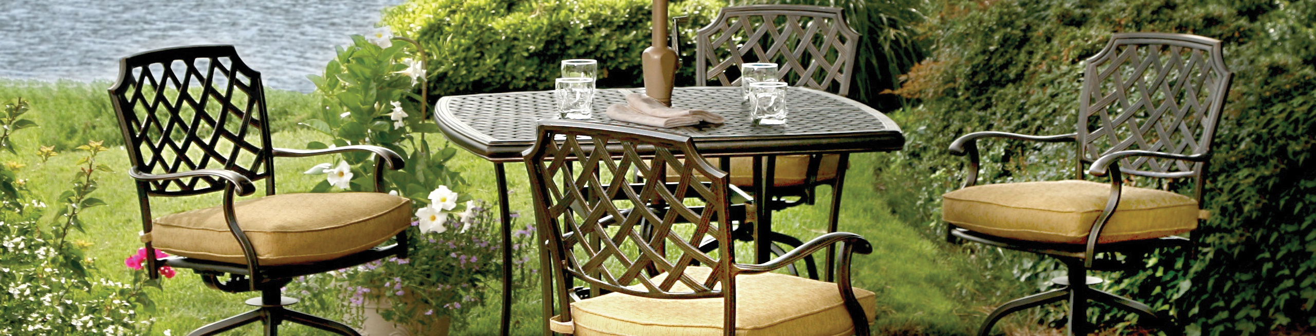 Lowes Outside Furniture | Bar Height Patio Sets | Patio Sets Under $200