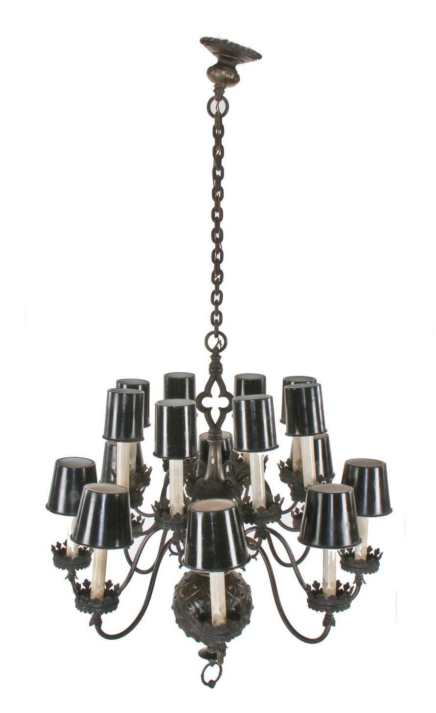 Magnificent Gothic Chandelier | Magnificent Hand Forged Iron Chandeliers