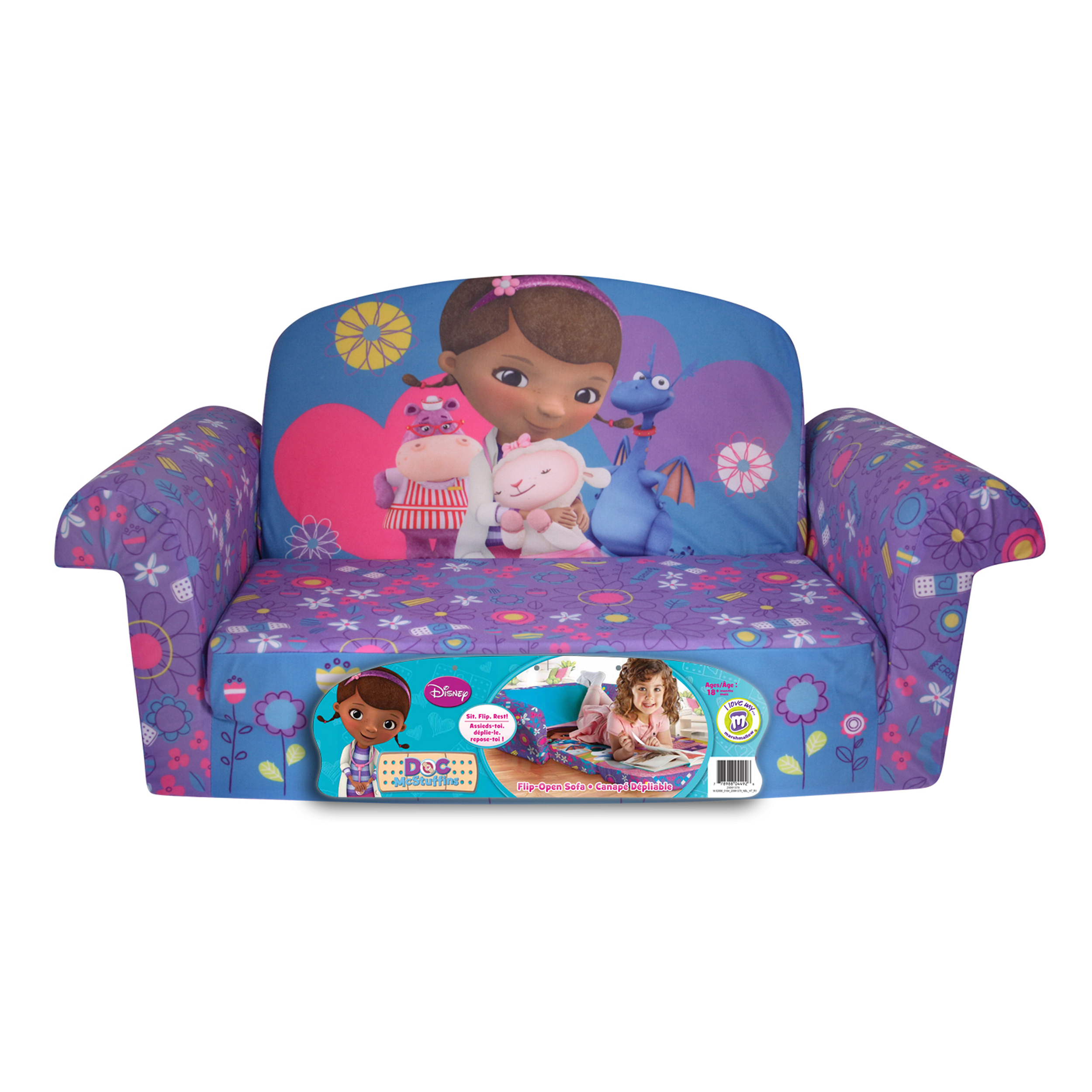 Cute Toddler Flip Open Sofa for Children Furniture Ideas: Mickey Mouse Sofa Chair | Minnie Mouse Flip Out Sofa | Toddler Flip Open Sofa