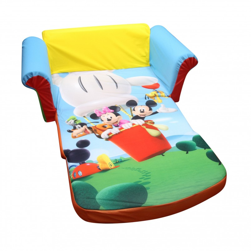 Mickey Mouse Sofa Chair | Toddler Flip Open Sofa | Minnie Mouse Flip Out Sofa