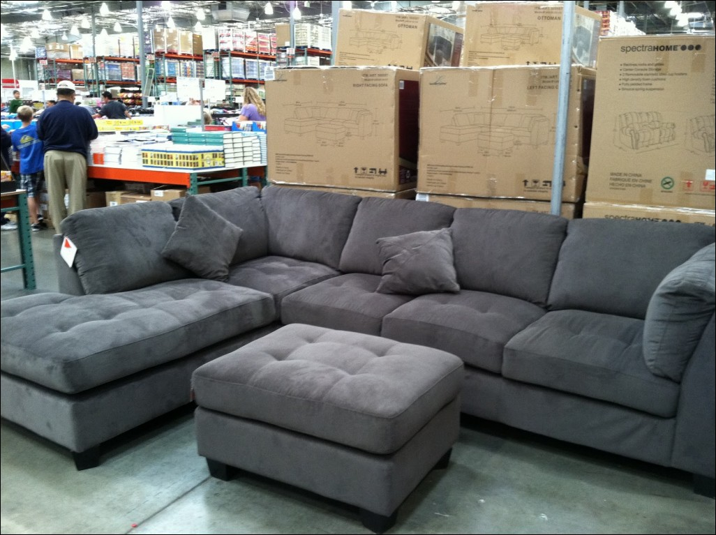 Microfiber Sectional Sofa | Costco Leather Sectional | Leather Sectional Costco