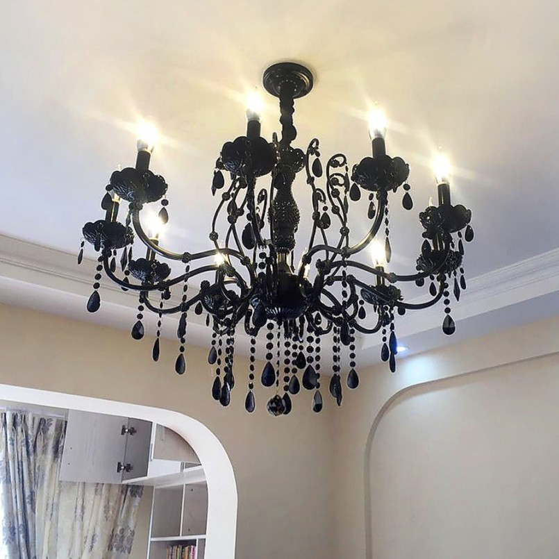 Glamour Gothic Chandelier with Unique and Antique Design - Lighting: Glamour Gothic Chandelier With Unique And Antique Design