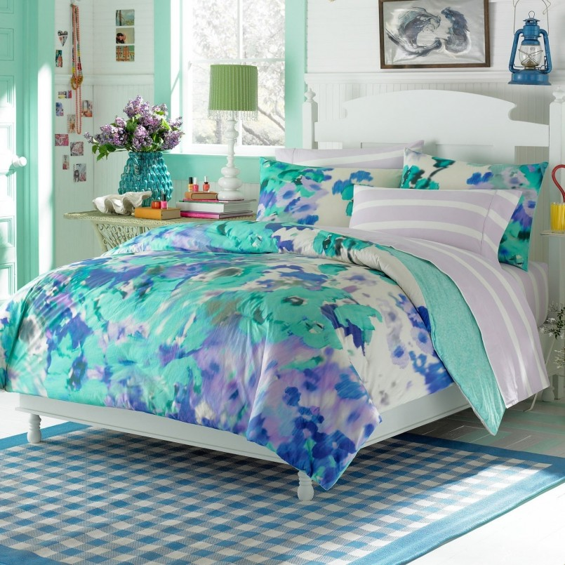 Neon Comforter | Twin Bedding Sets For Girls | Teenage Bedspreads