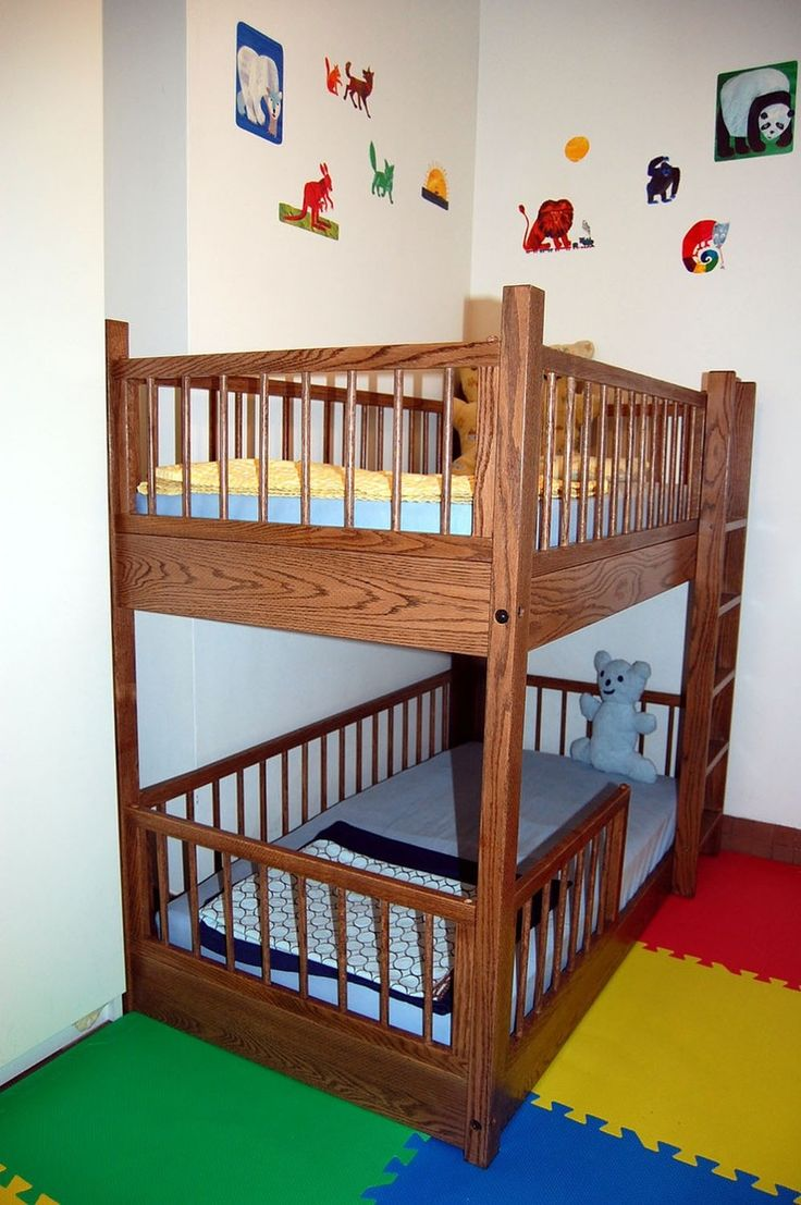 Offset Bunk Beds | Bunk Beds for Small Rooms | 4 Bed Bunk Beds