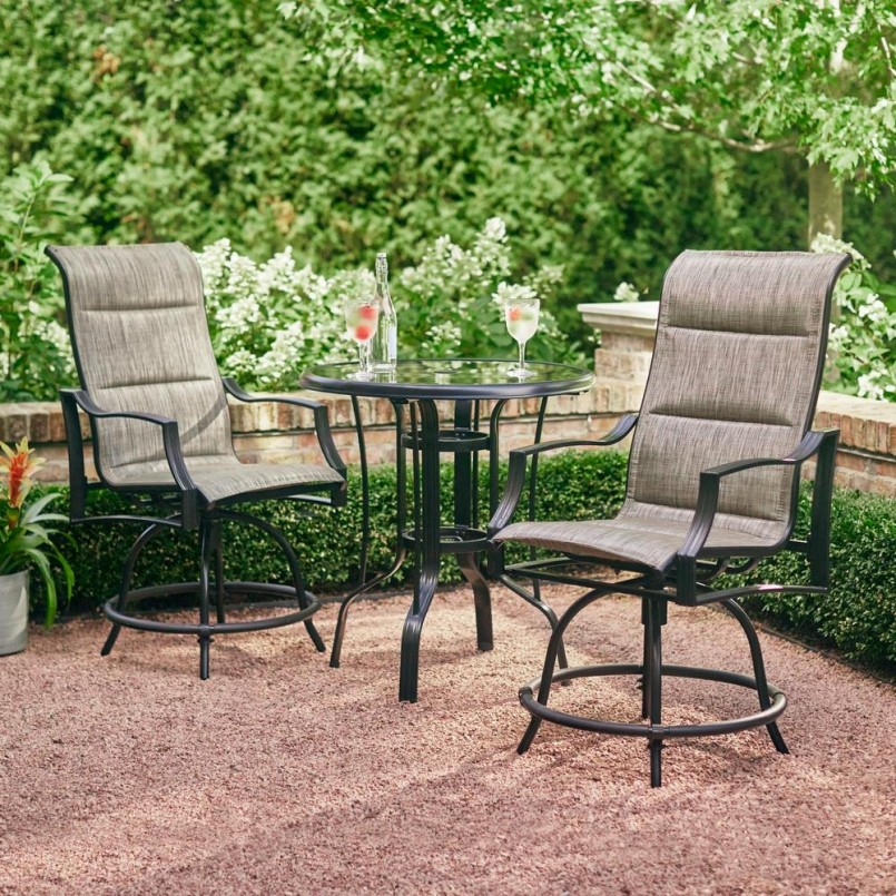 Furniture: Enjoy Your New Outdoor Furniture With Bar Height Patio ...