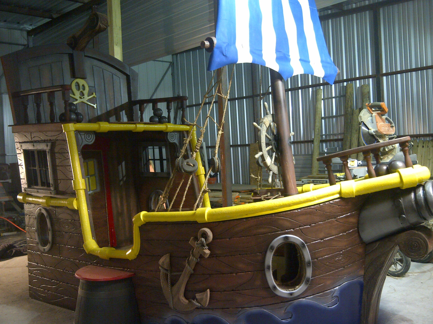 Pirate Ship Bunk Beds | Little Tyke Pirate Ship | Little Tikes Pirate Bed