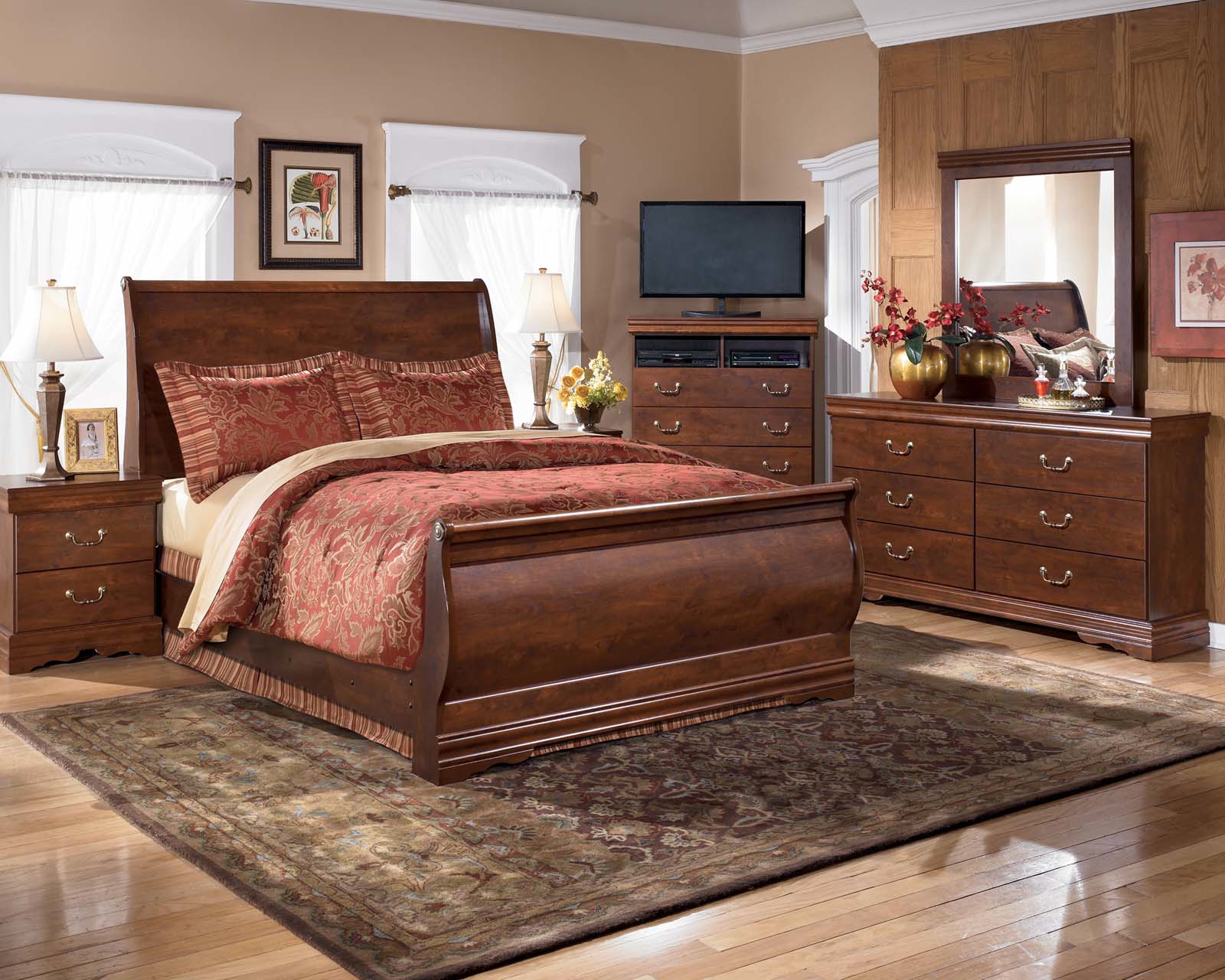 Pottery Barn Sleigh Bed | Double Bed Headboard Designs | Headboard and Frame Set