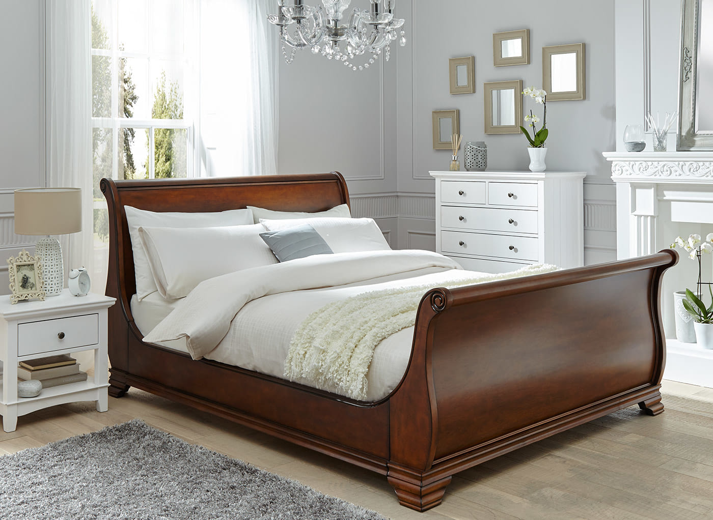 Pottery Barn Sleigh Bed | Pottery Barn Hudson Bed | Backboards for Beds