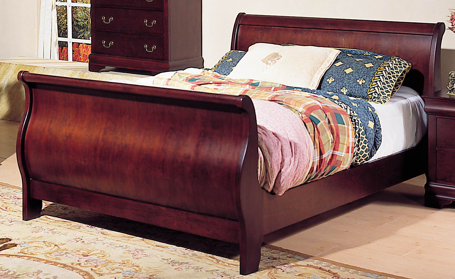 Pottery Barn Sleigh Bed | Quilted Headboard Bedroom Sets | Headboards for Full Size Beds