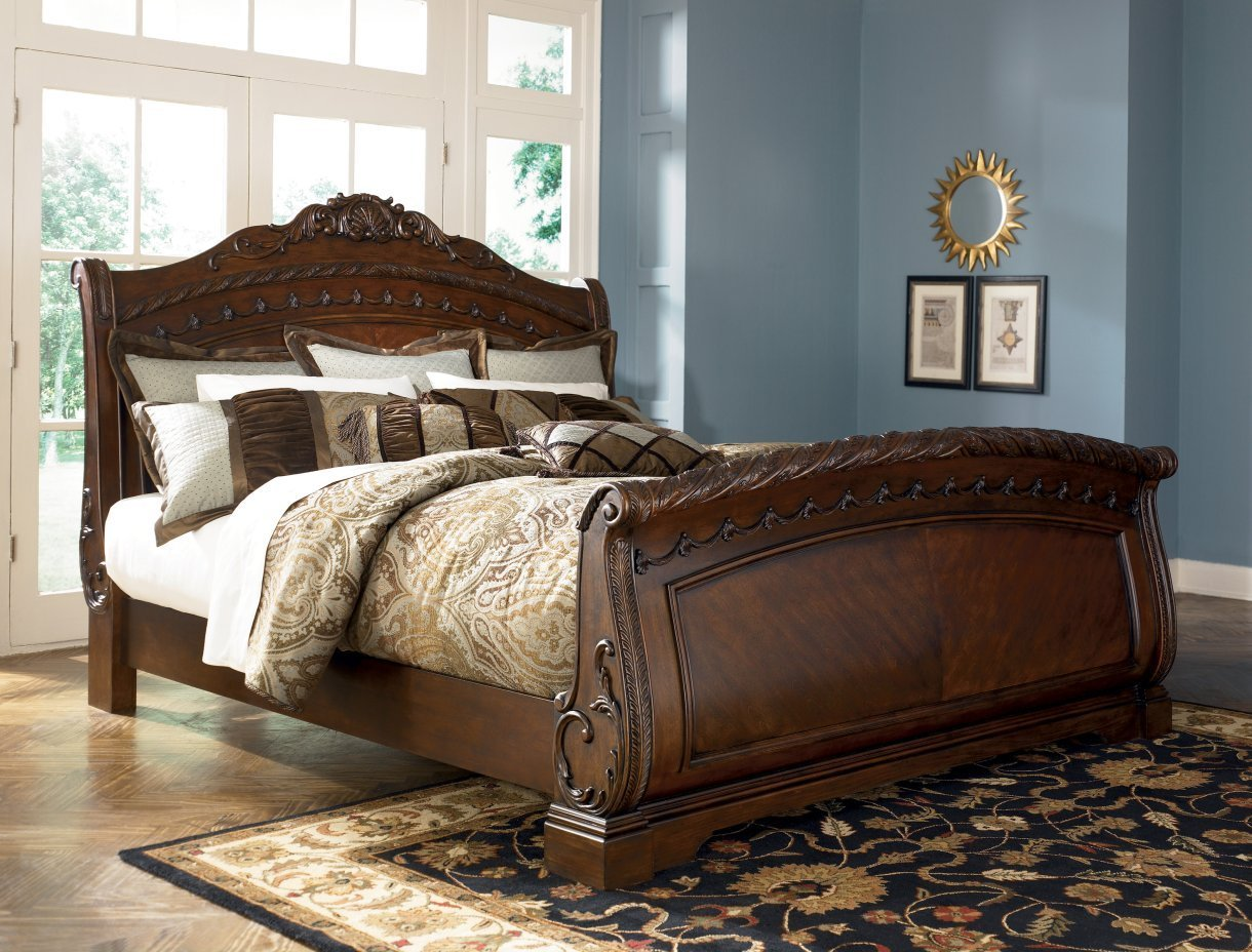 Pottery Barn Valencia | Pottery Barn Sleigh Bed | Padded Headboards for Double Beds