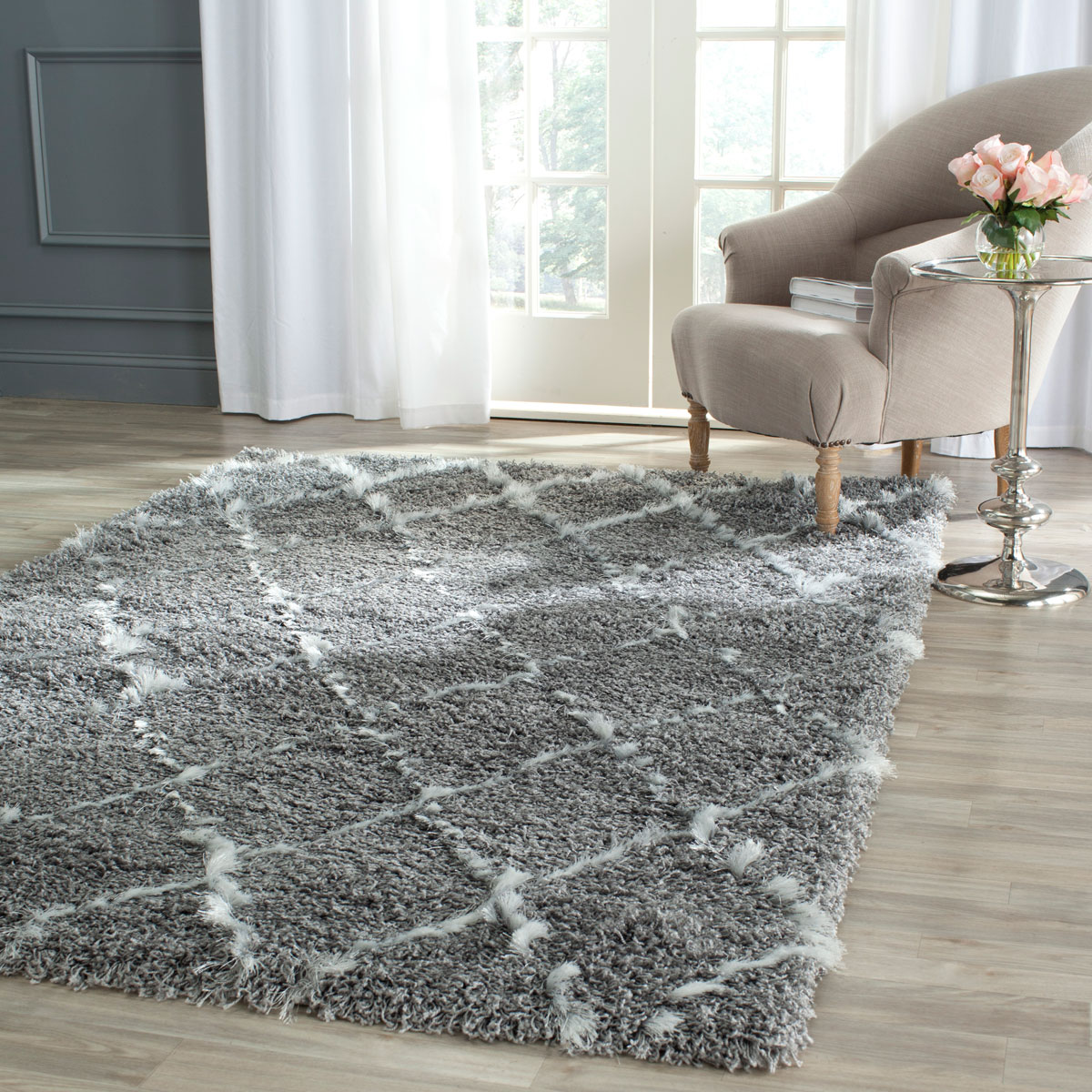 Pretty Marrakesh Shag Rug Designs | Breathtaking Tuscan Moroccan Rug