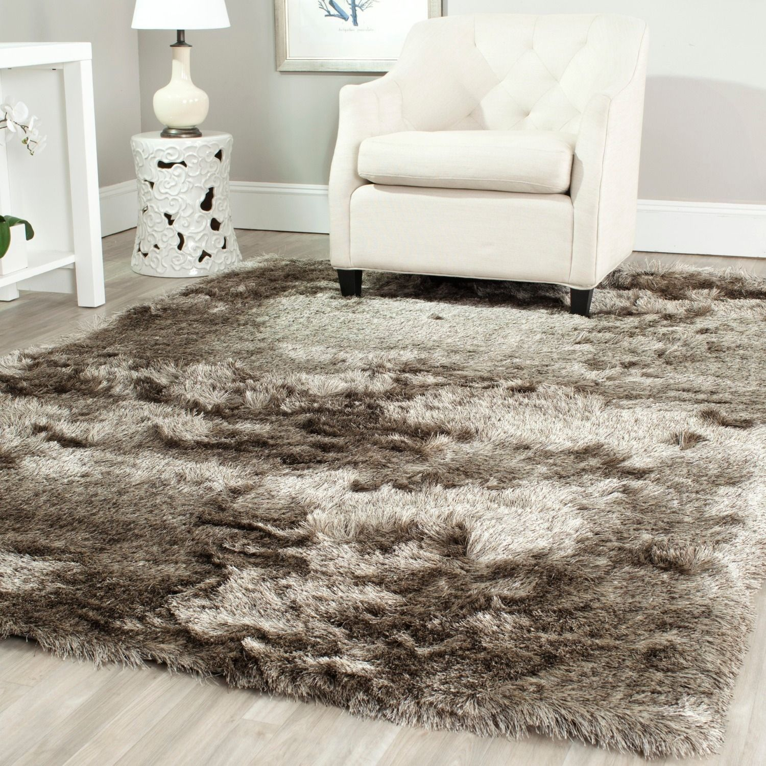 Pretty Marrakesh Shag Rug | Splendiferous Shaggy Rugs for Living Room