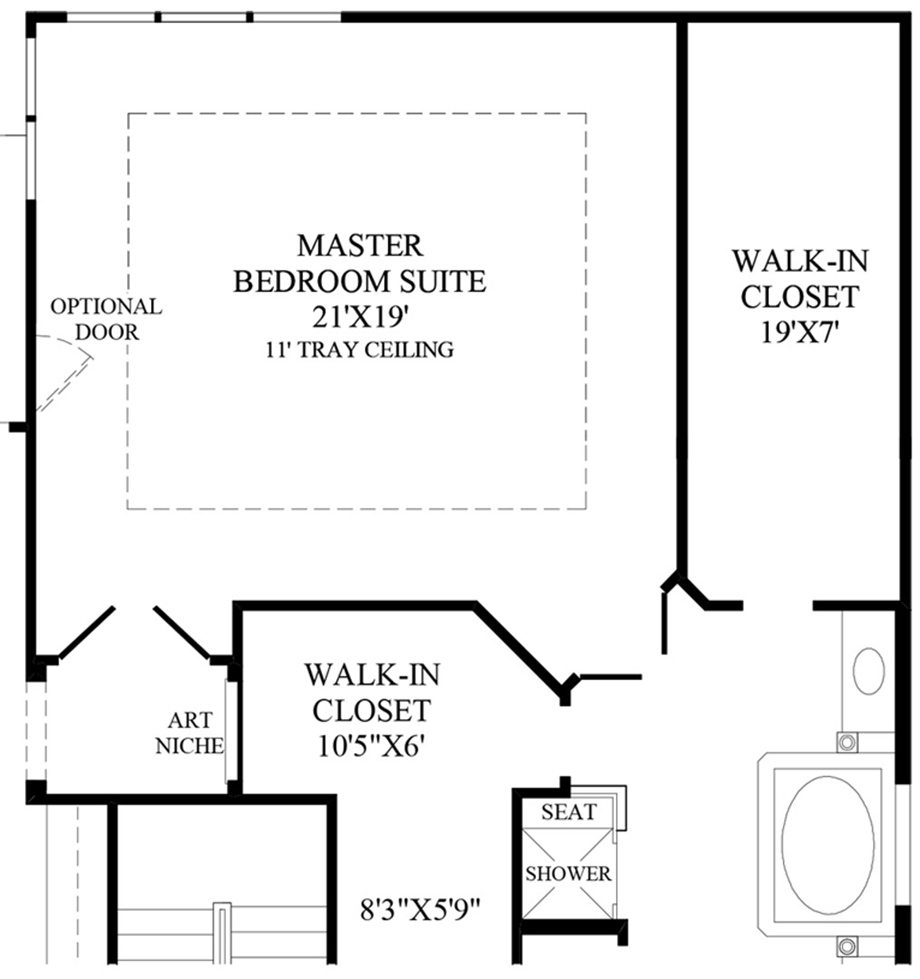 Pretty Master Bedroom Addition Plans | Sophisticated Prefab Additions