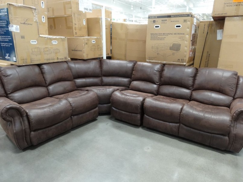Recliner Sectional | Costco Leather Sectional | Reclining Sectionals