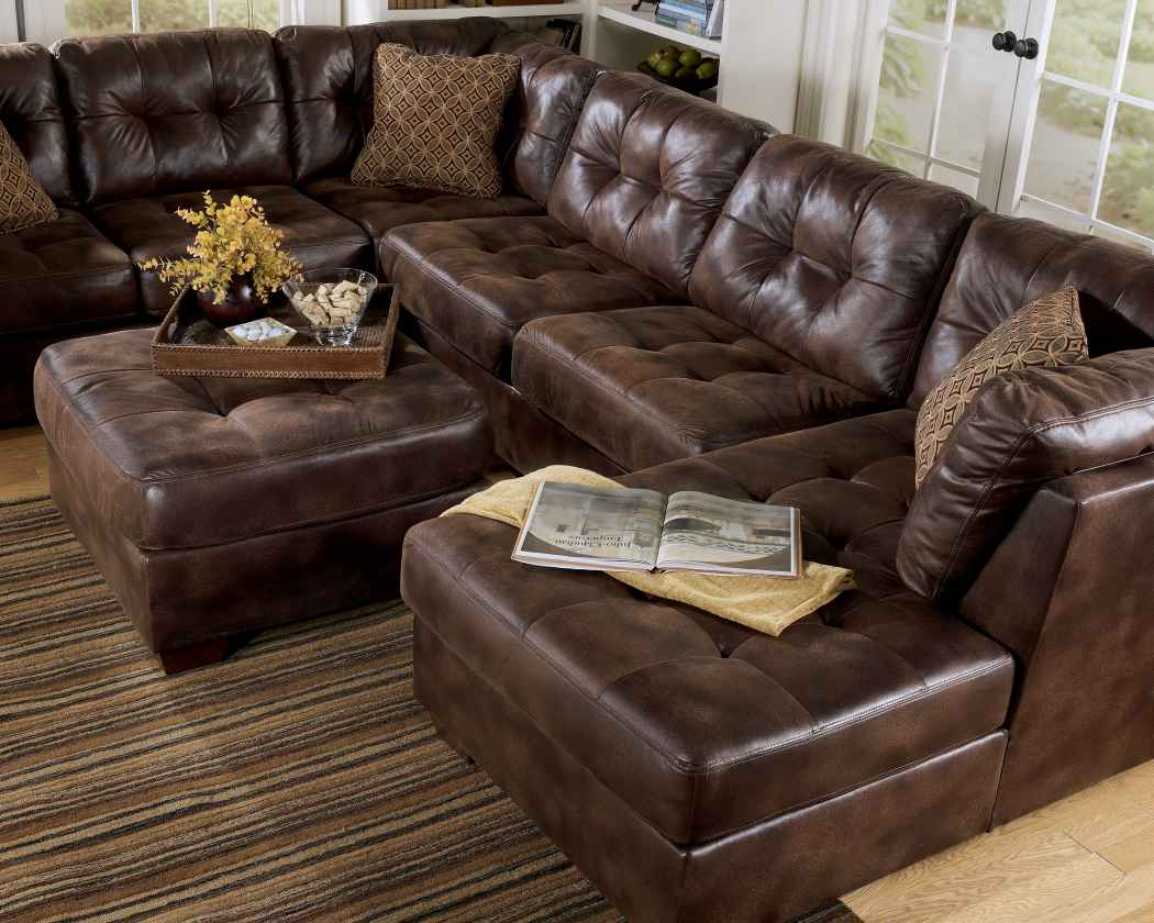 Furniture Stunning Home Furniture With Cool Costco Leather  ~ Reclining Sectional Sofa With Chaise Lounge