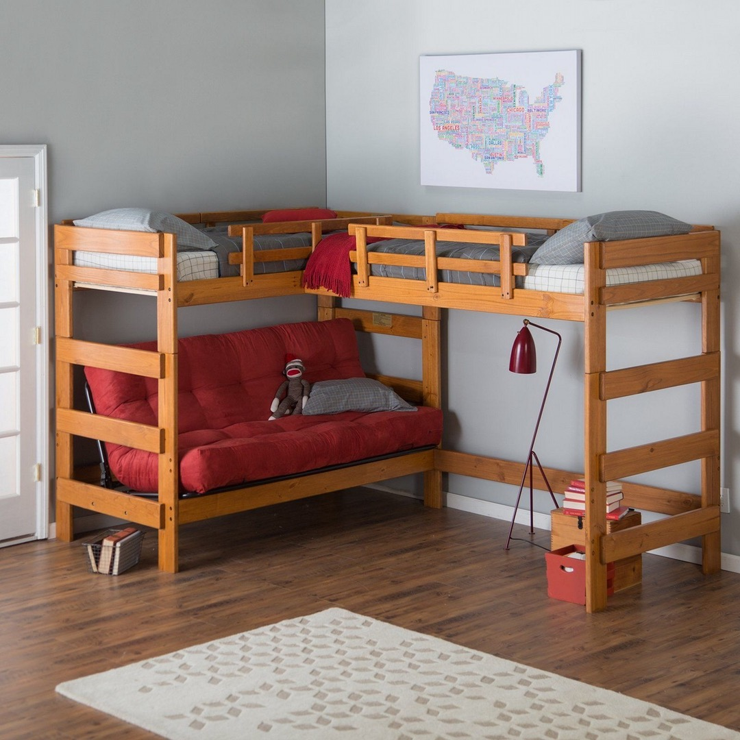 Room and Board Bunk Beds | Offset Bunk Beds | Bunk Beds for Small Rooms
