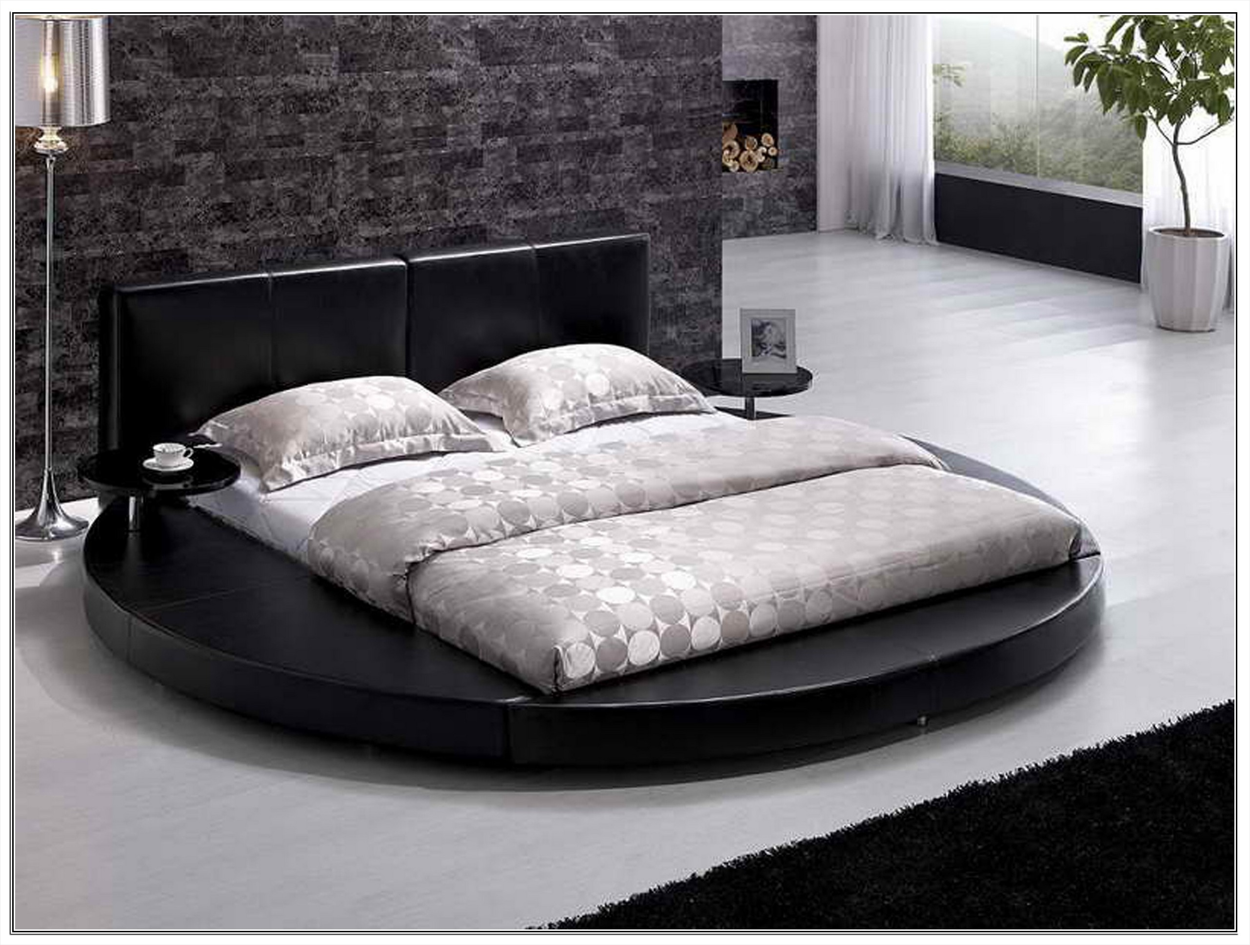 Bedroom Exciting Round Beds For Your Luxurious Bedroom
