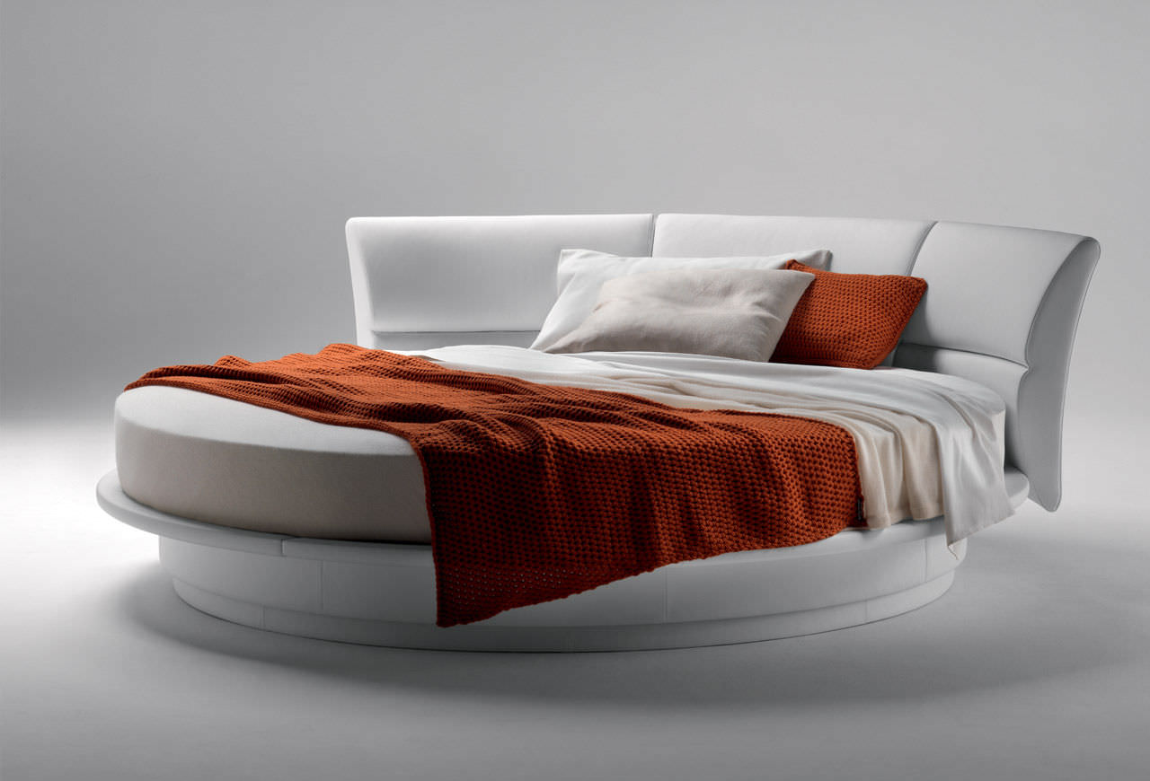 Round Bed with Canopy | Queen Round Bed | Round Beds