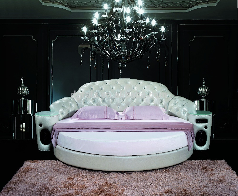Round Beds | Round Bed Risers | Round Bed with Canopy
