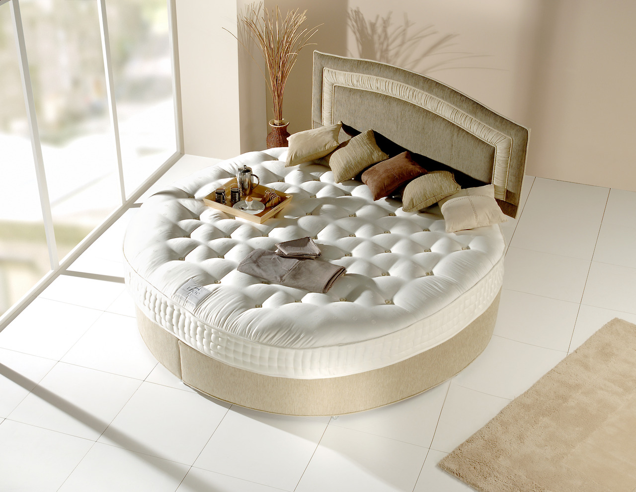Round Beds | Round Bed Sofa | Round Ikea Bed