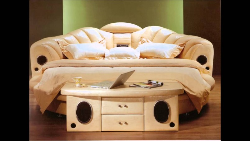 Round Beds | Round Rotating Bed | King Size Round Beds
