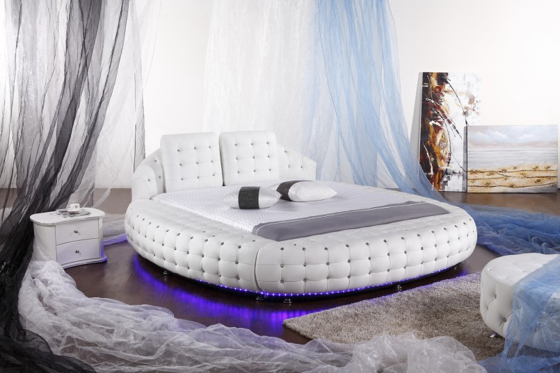Round Water Bed | Round Beds | Round Bed Prices