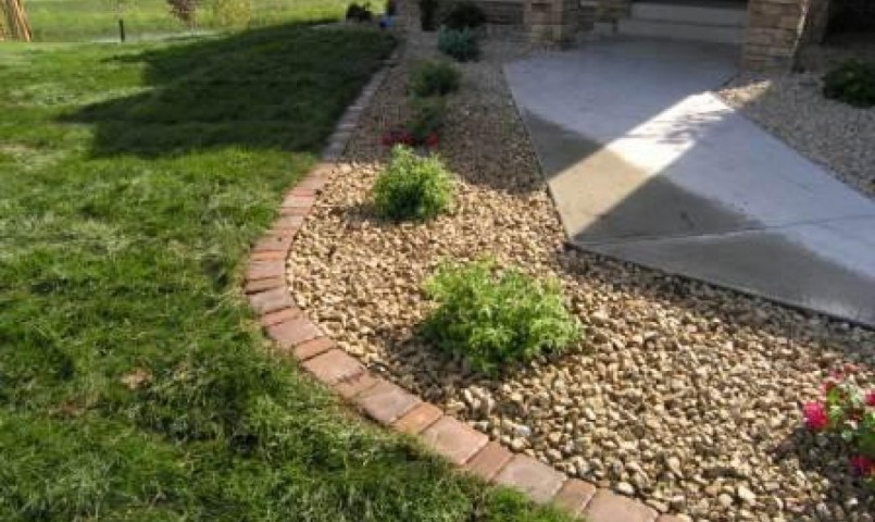 Rubber Edging | Home Depot Landscape Edging | Driveway Edging Materials