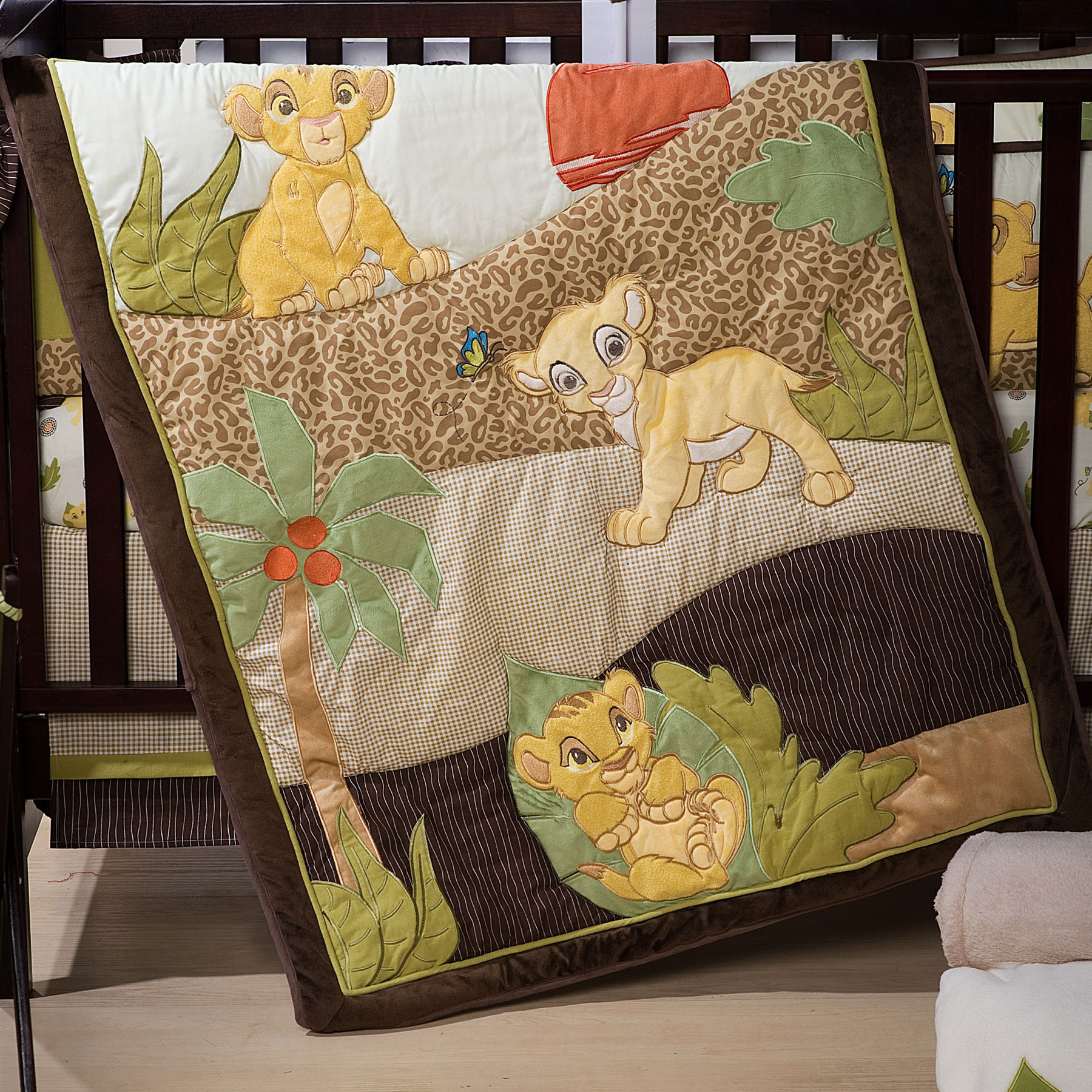 Sears Crib Bedding | Lion King Nursery Set | Batman Crib Set