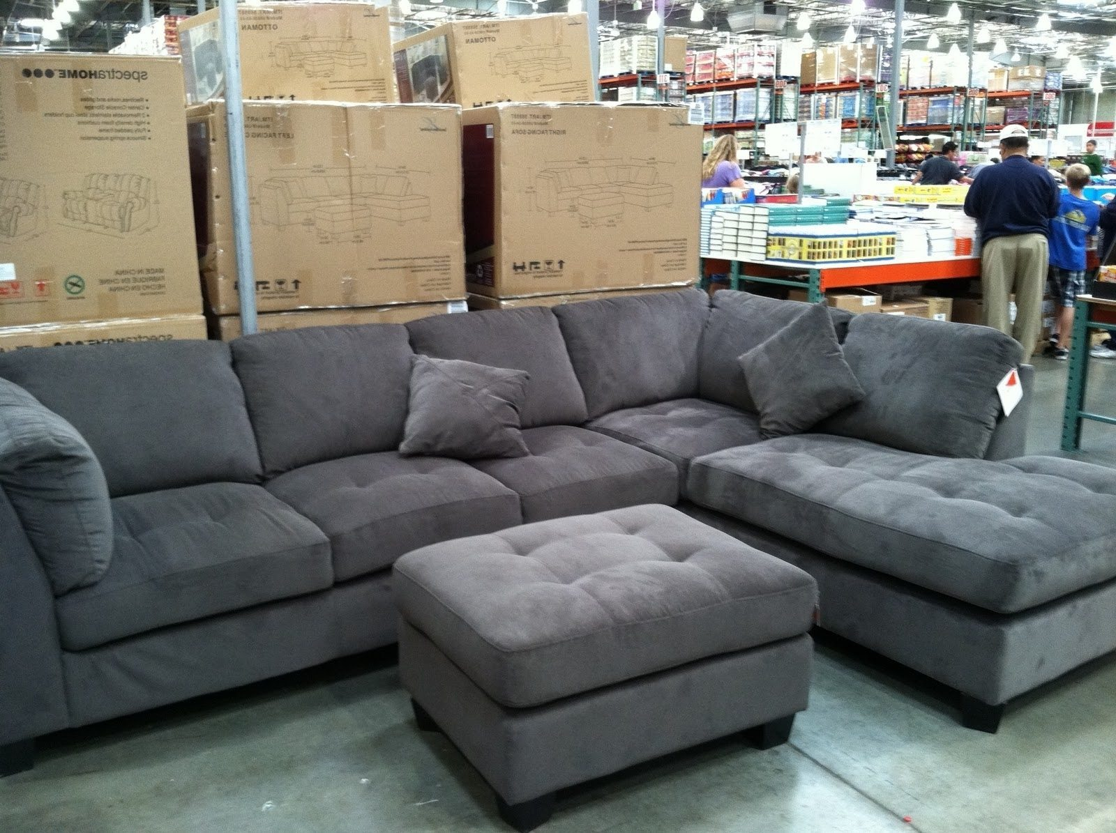 Sectional Sofas with Chaise | Costco Leather Sectional | Macys Leather Sofa