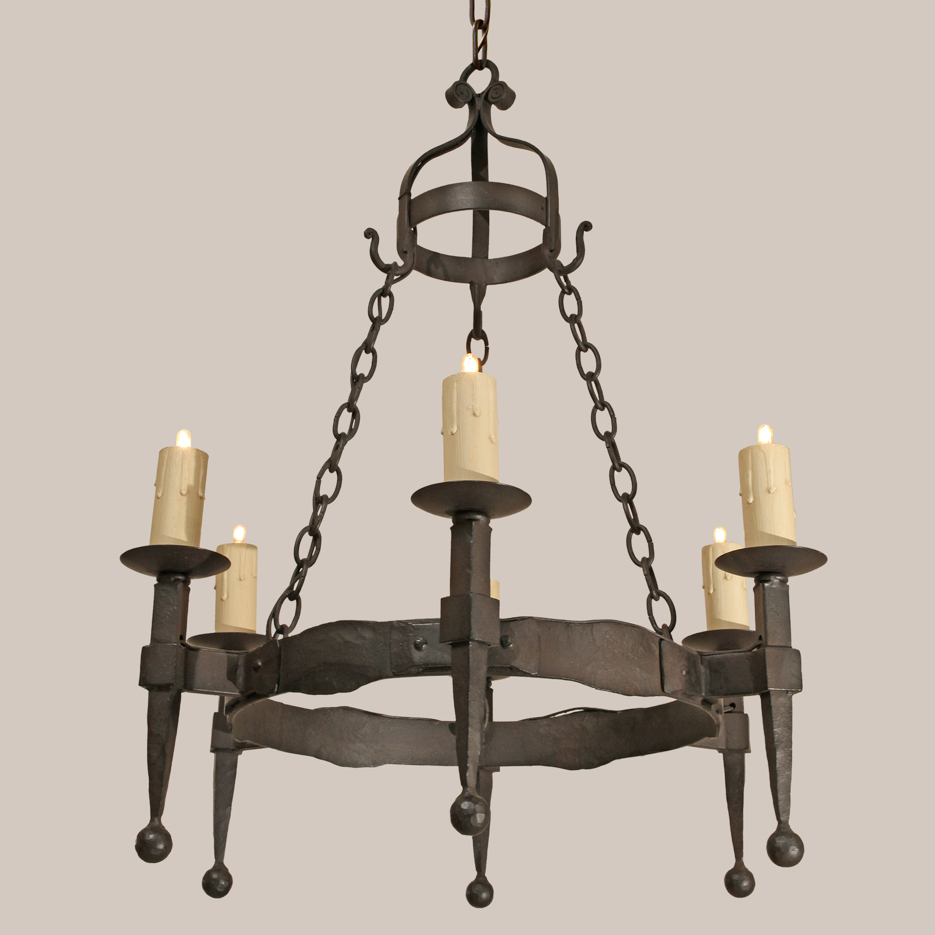 Snazzy Hand Forged Iron Chandeliers | Beautiful Gothic Chandelier