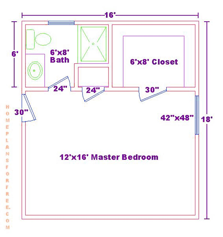 Snazzy Master Bedroom Floor Plan Ideas | Remarkable Master Bedroom Addition Plans