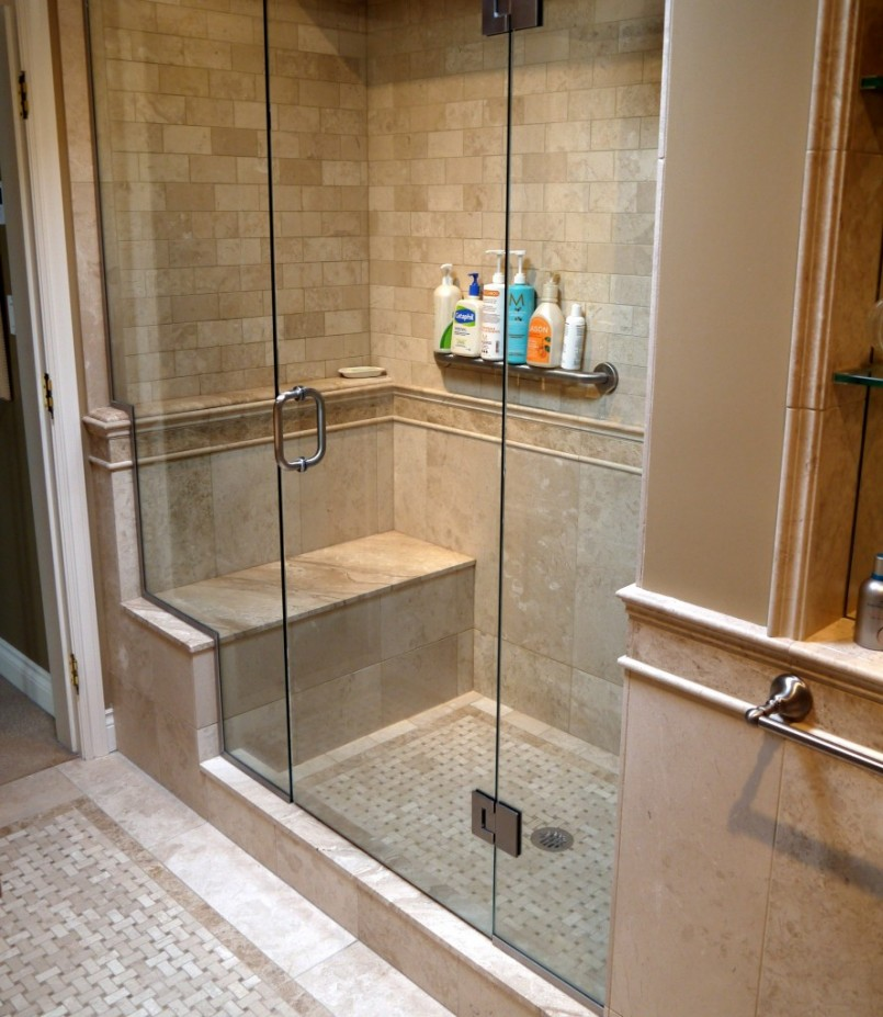 Sterling Shower Stalls | Shower Stalls With Seats | Menards Shower Doors