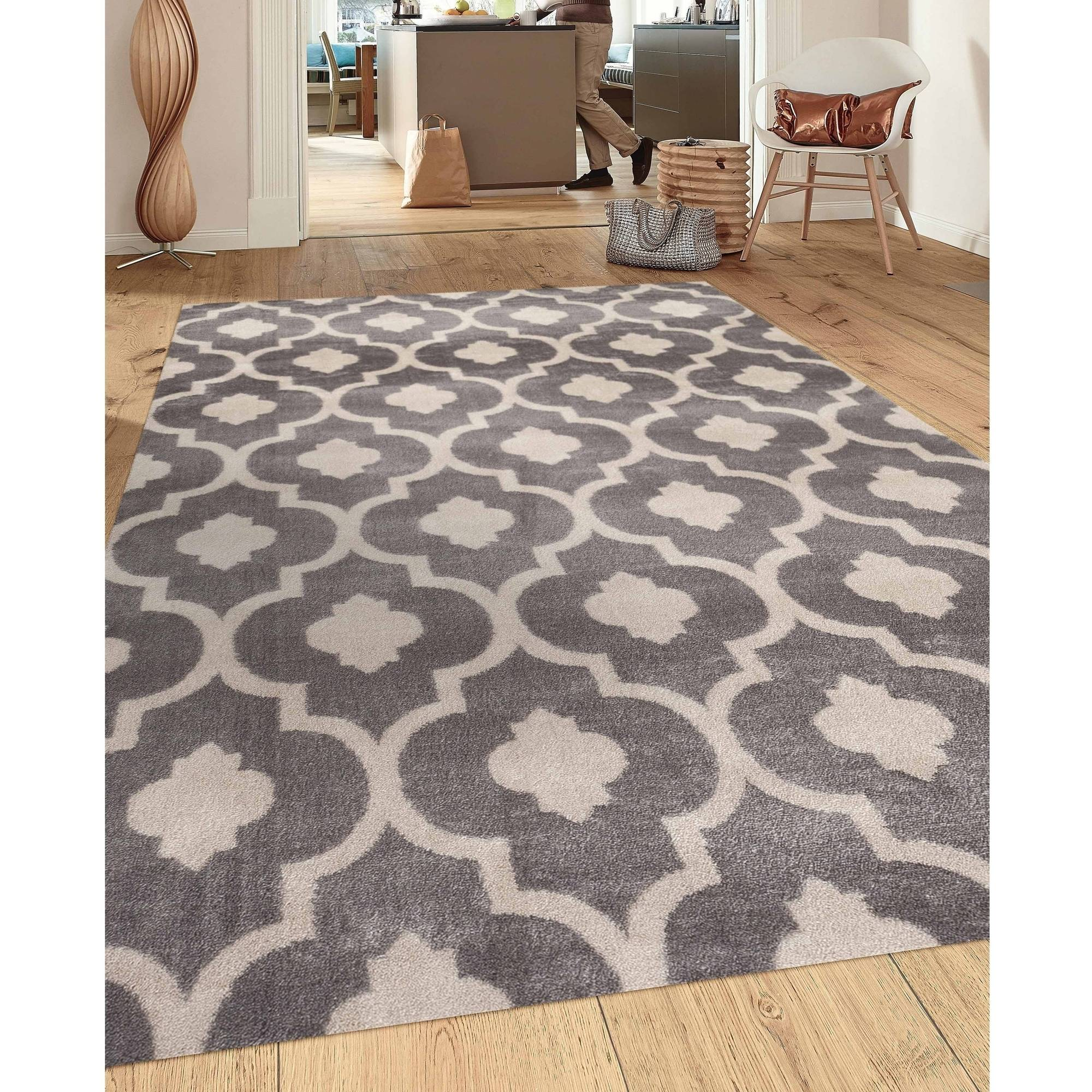 Surprising Shaggy Contemporary Area Rugs | Entrancing Marrakesh Shag Rug
