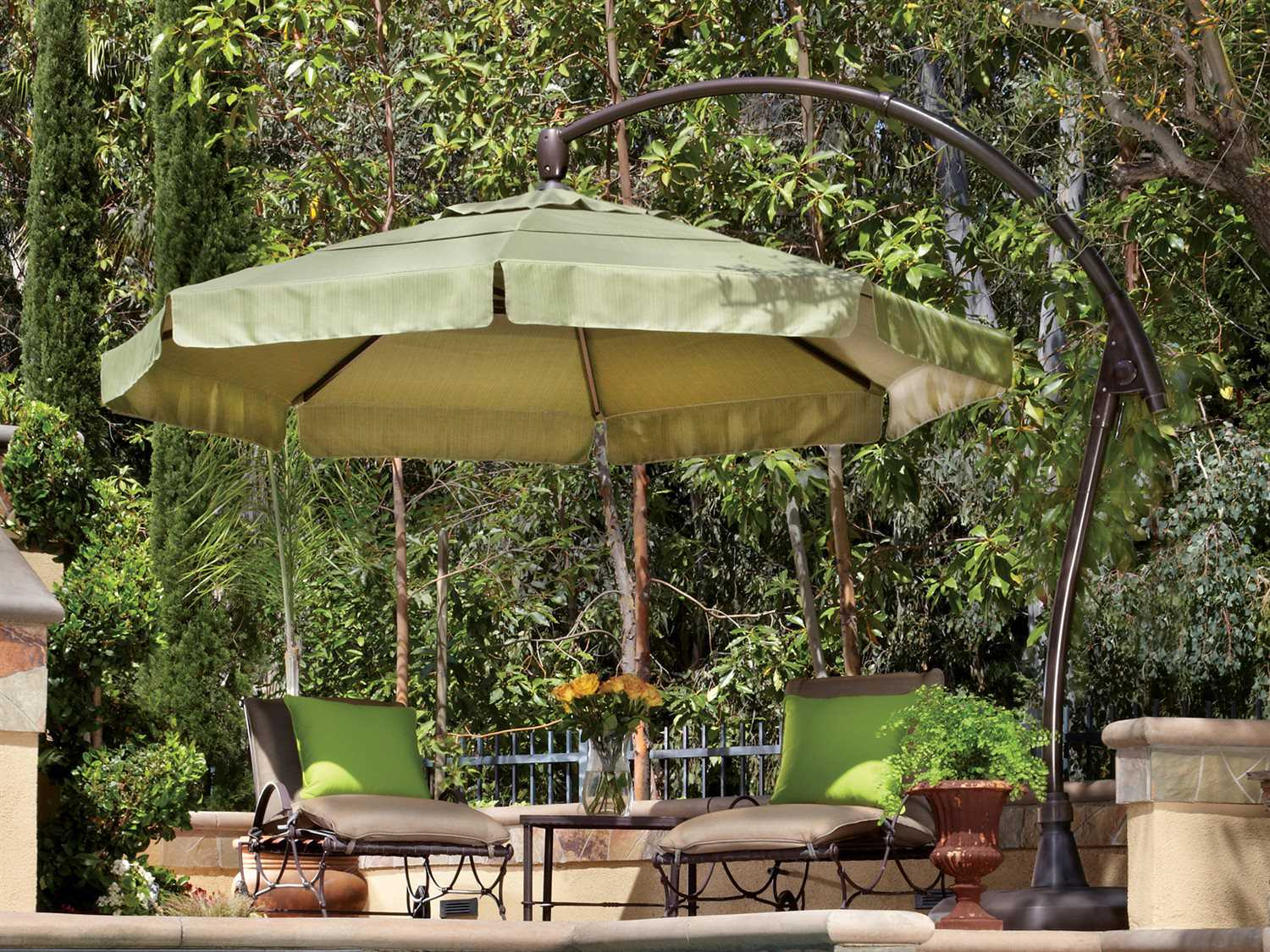 Target Umbrella Patio | Outdoor Conversation Set Clearance | Costco Offset Umbrella