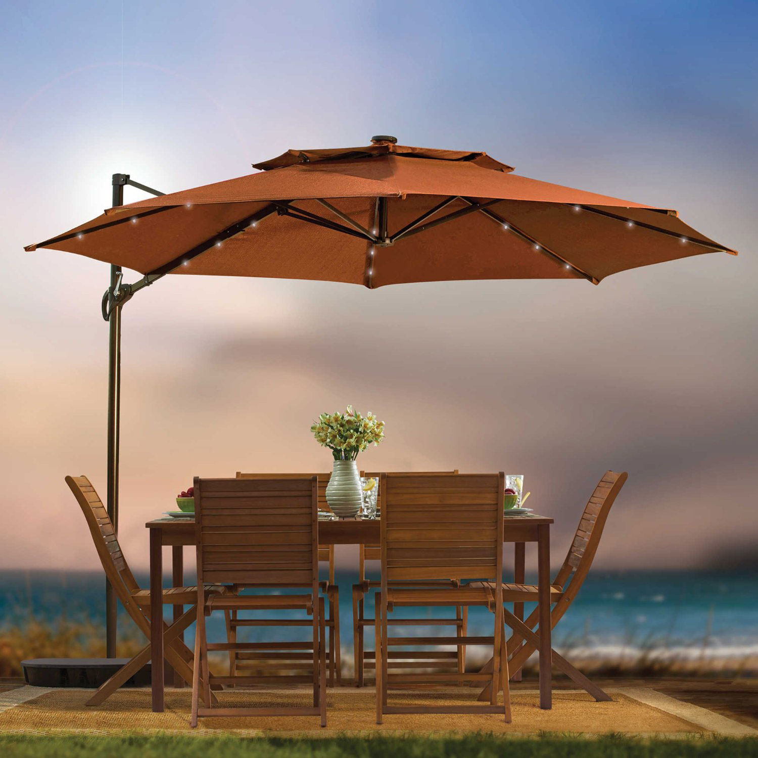 Target Umbrellas | Costco Offset Umbrella | Costco Bistro Set