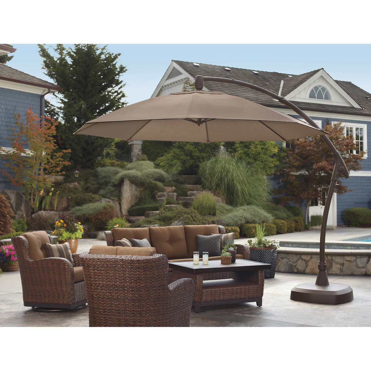 Umbrellas at Lowes | Costco Canopy | Costco Offset Umbrella
