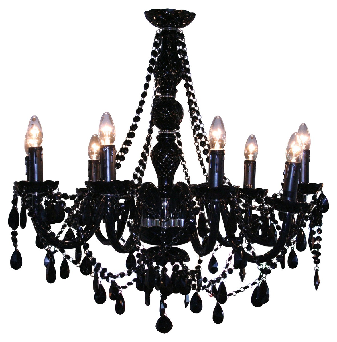 Unique Gothic Chandelier | Interesting Mexican Wrought Iron Chandelier
