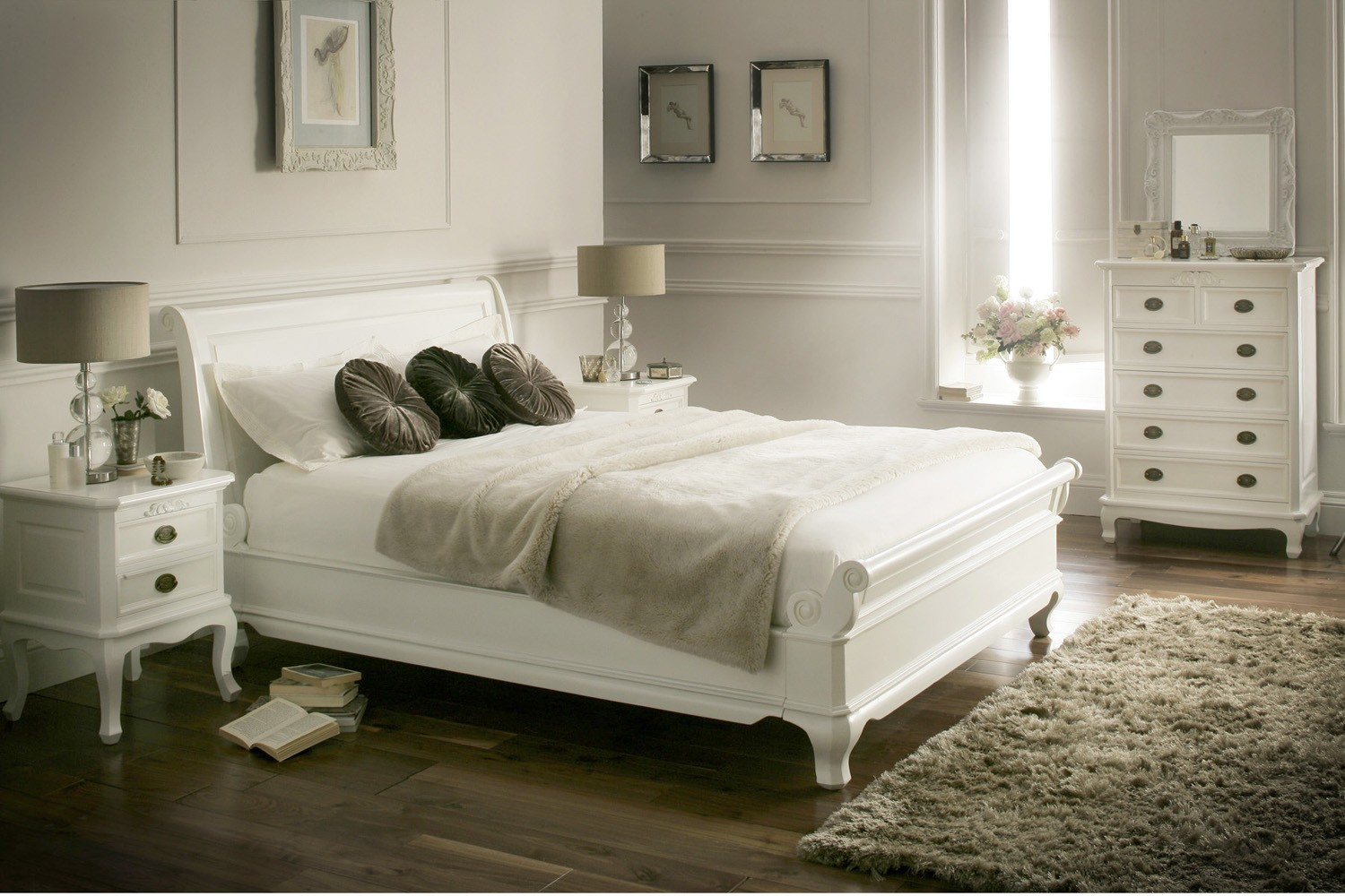 Upholstered Headboard Bedroom Sets | Pottery Barn Sleigh Bed | King Size Platform Bed with Headboard
