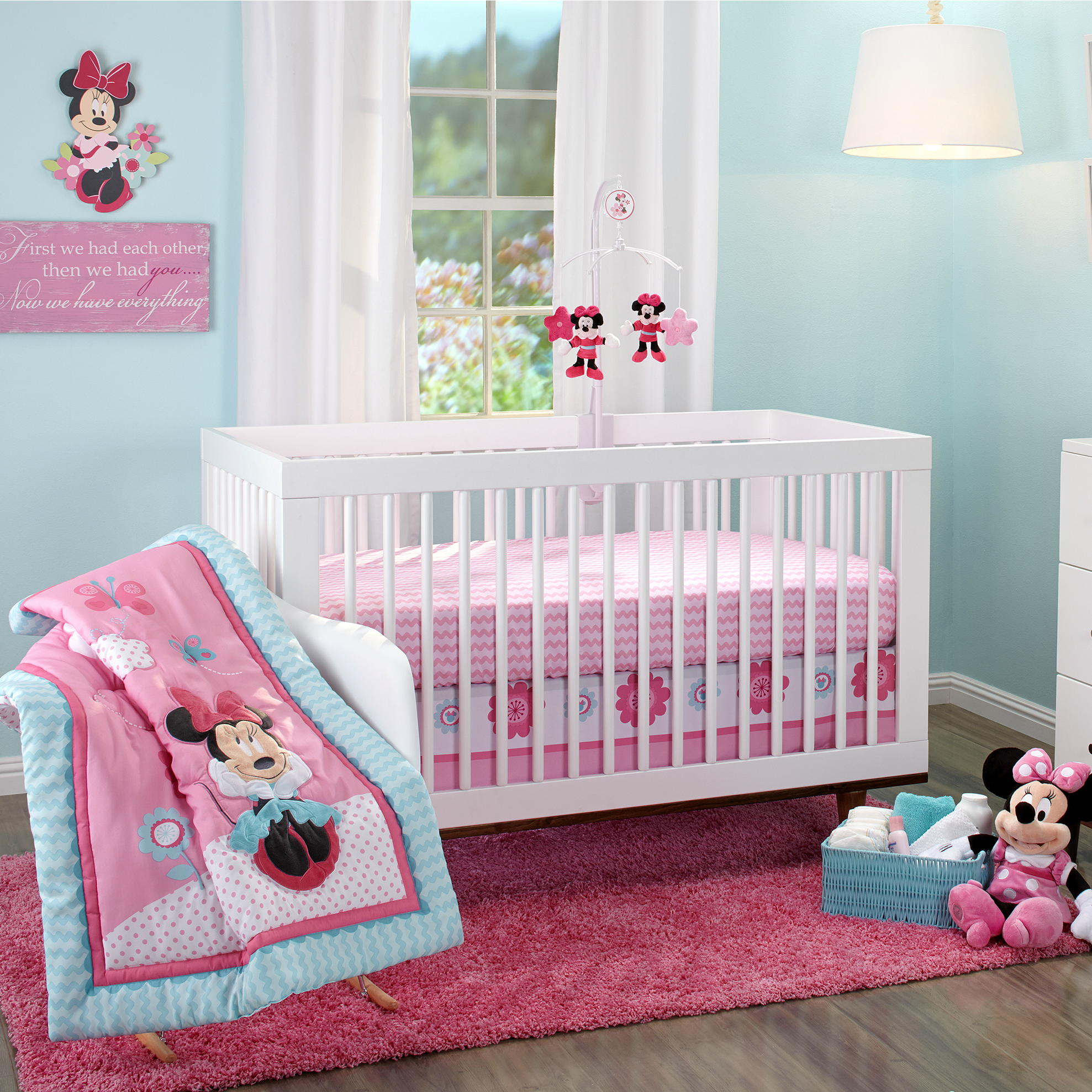 Winnie The Pooh Crib | Minnie Mouse Crib Set | Lion King Nursery Set