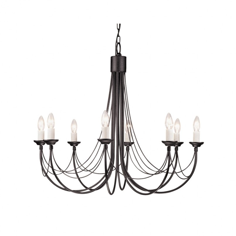 Wondrous Wrought Iron Outside Lights   Pretty Gothic Chandelier