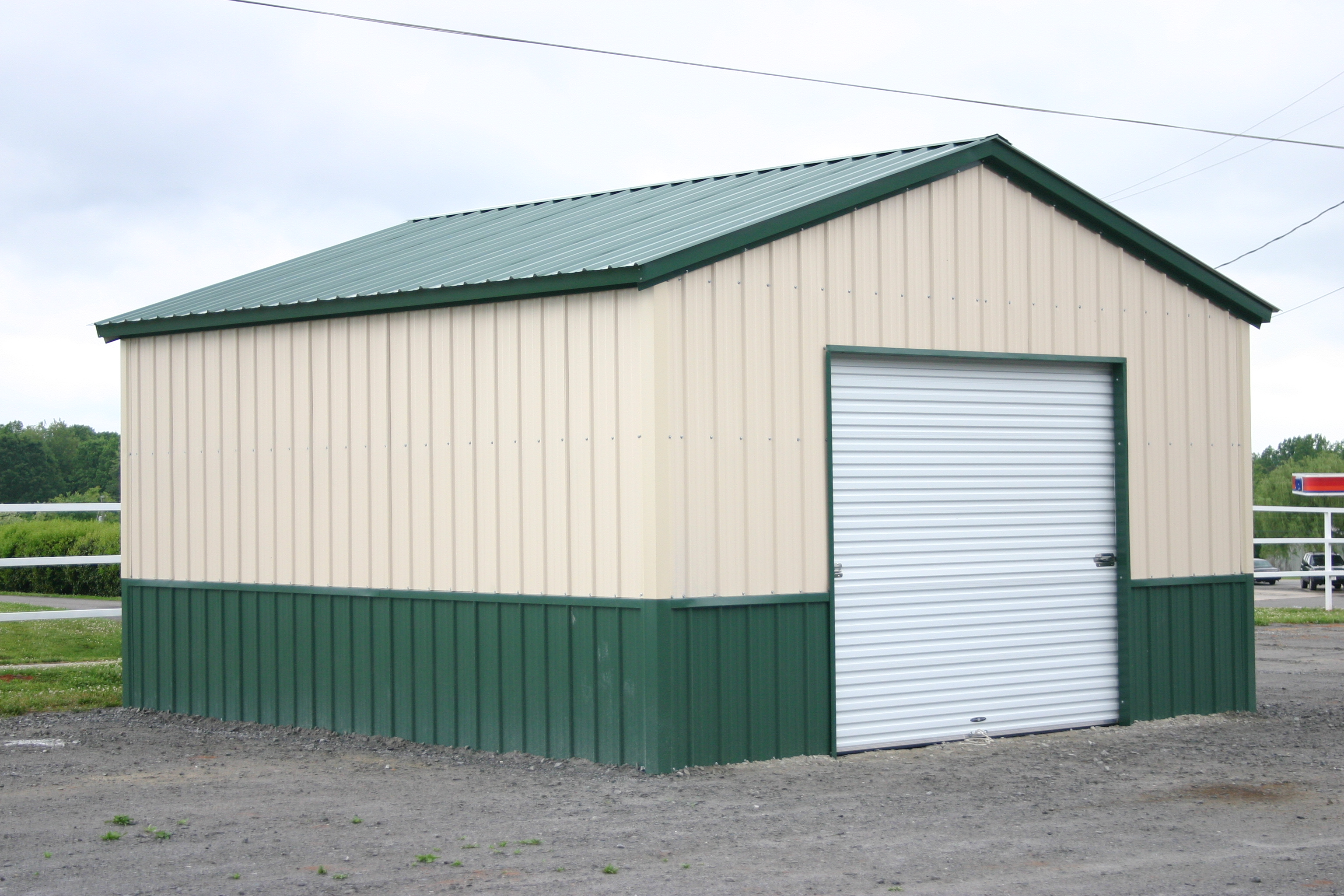 barns snow barn garage garages building metal precise buildings roof custom build pole guards view