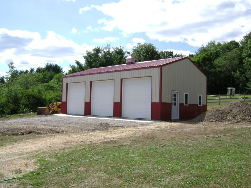 40x40 Pole Barn | Pole Barns With Living Quarters | Pole Barns Pa