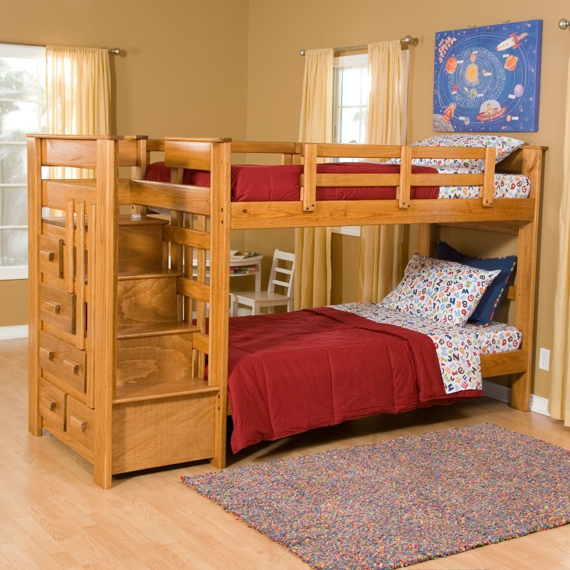 Adorable Cherry Loft Bed | Dazzling Canwood Loft Bed