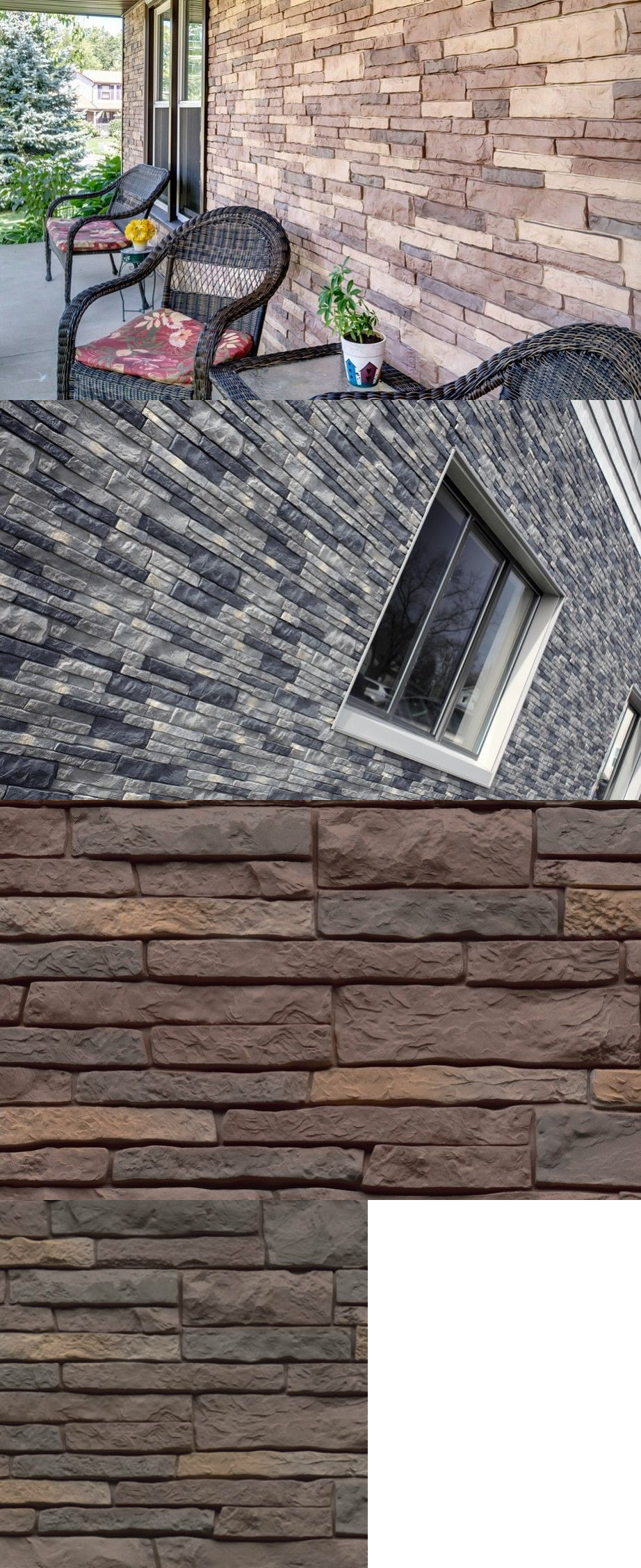 Airstone Brick | Stone Veneer Lowes | Fake Brick Siding